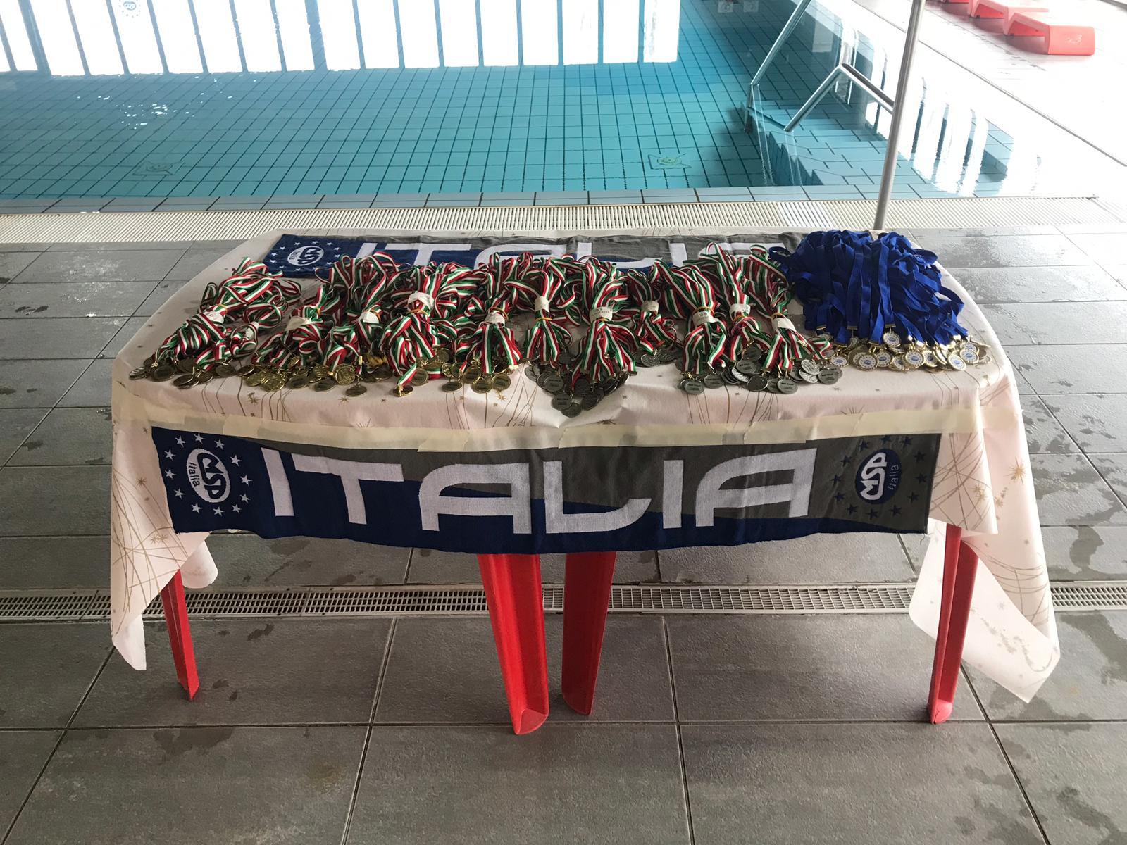 MSP Nuota con noi 2019 Risultati