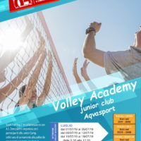 Volley accademy junior club Aqvasport